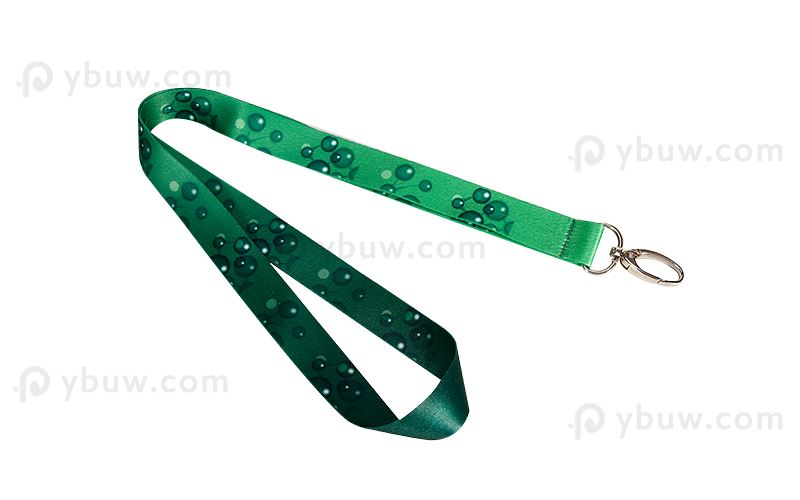 Green Dye Sublimated Lanyard-DSL20absxS