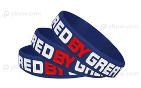 Dark Blue Colorfilled Wristband-CFW12ASO