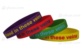 Solid Colorfilled Wristband-CFW12ASO