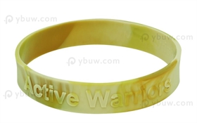 Embossed Silicone Wristband-EW12ASW