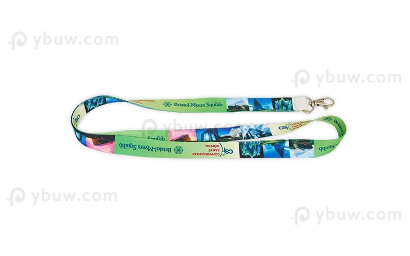 Full Color Dye Sublimated Lanyard-DSL20aexS
