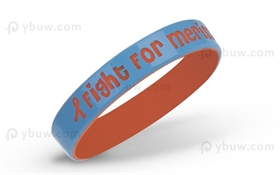 Light Blue Duel Layer Wristband-DLW12ASO