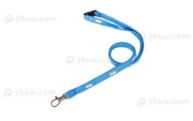 Light Blue Tube Lanyard-TL12dxS