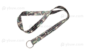 Camo Dye Sublimated Lanyard-DSL20aexS