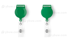 Green Retractable Badge Reel Style A