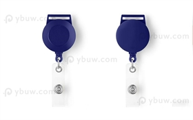 Blue Retractable Badge Reel Style A