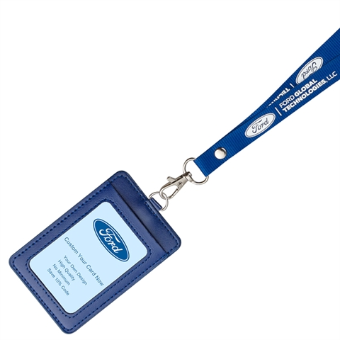 "5/8""(15mm) ID Badge Holder Lobster Claw Polyester Lanyards-TPKQ"