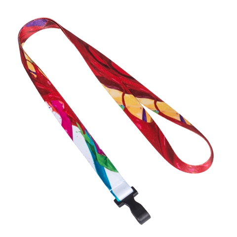 "5/8"" (15mm) Splash ink Lanyards with Plastic Hook-GUUV"