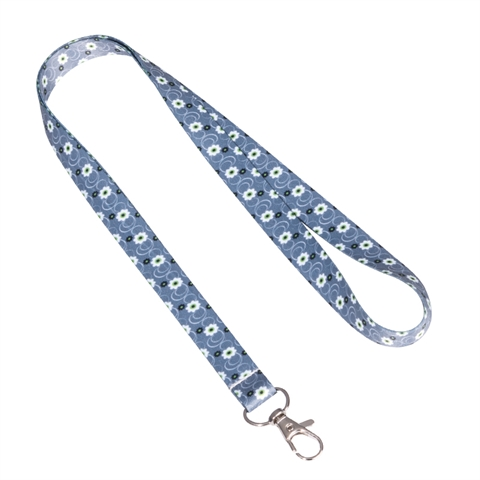 "5/8""(15mm) Flower Lanyards with Key Clip-MGDP"