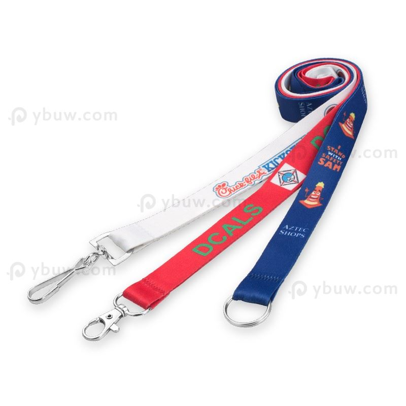 Personalized Dye Sublimated Imprinted Lanyard